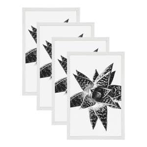 Gallery 11x17 White Picture Frame Set of 4