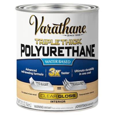 1 qt. Gloss Triple Thick Polyurethane (2-Pack)