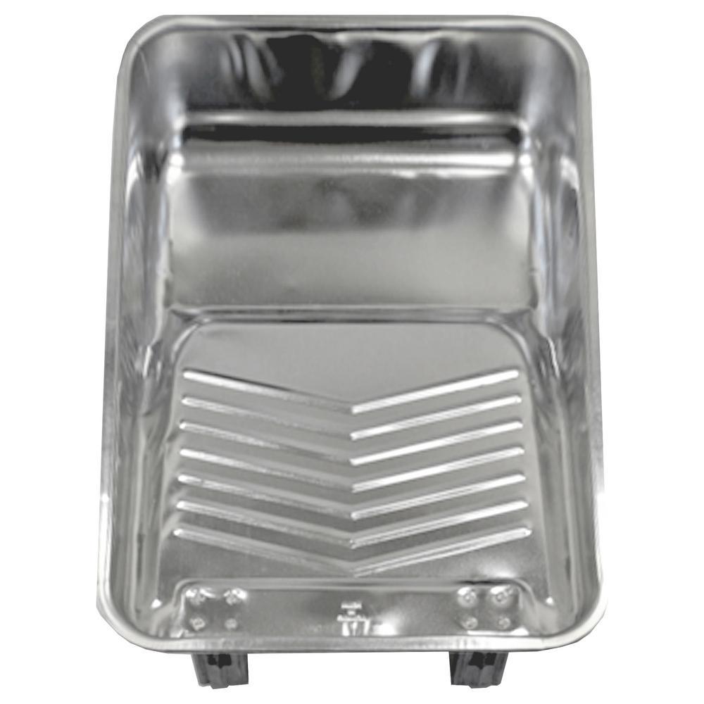 2 Qt. Standard Metal Tray (12-Pack)