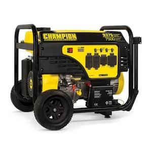 9375/7500-Watt Electric Start Gas Portable Generator