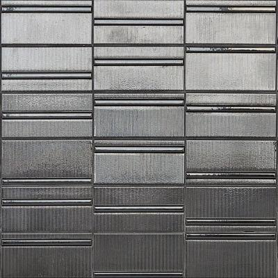 Magnitude Echo Dark Gray 4 in. x 8 in. x 7.5mm Polished Ceramic Subway Wall Tile (50 pieces / 10.76 sq. ft. / box)