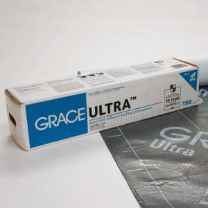 Grace Ultra 34 in. x 70 ft.  Roll Self Adhered Roofing Underlayment (198 sq. ft.)