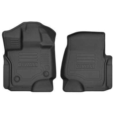 Front Floor Liners Fits 2015-2018 F150 SuperCrew/SuperCab