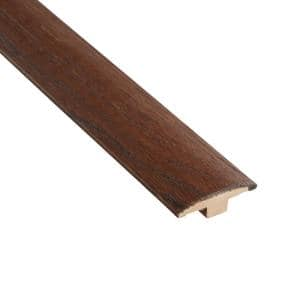 Distressed Archwood Hickory 3/8 in. Thick x 2 in. Wide x 78 in. Length T-Molding