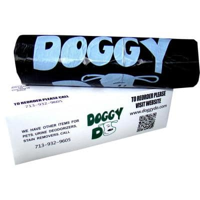 Doggy Do Pet Roll Style Waste Bags (200-Bag/Pack, 10-Pack/Carton, 2000-Bags)