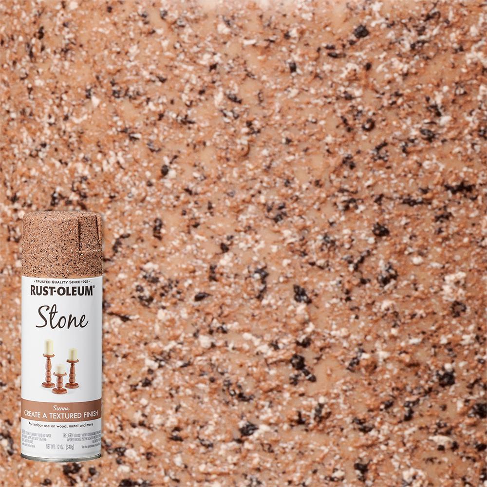 12 oz. Stone Creations Sienna Textured Spray Paint (6-Pack)