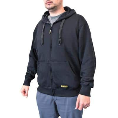 Men's XXXLarge 20V XR Lithium Ion Black bare Hoodie with 1 USB Power Adapter
