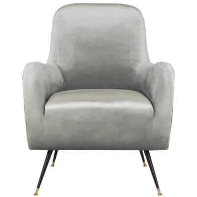 Noelle Light Gray Accent Chair