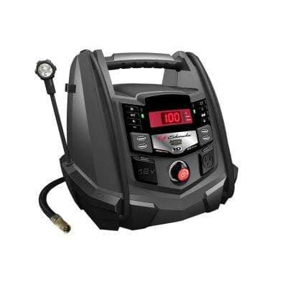 400-Watt 1200 Peak Amp 12-Volt Battery Powered Portable Power Station