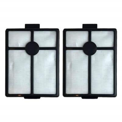 HEPA Style Filters Replacement for Rainbo Rexair E and E2, Compatible with Part R7292 and R12107B (2-Pack)