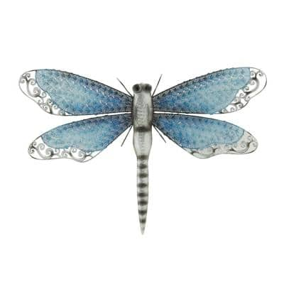NATURAL REFLECTIONS 16 IN. X 25 IN. DRAGONFLY WALL SCULPTURE