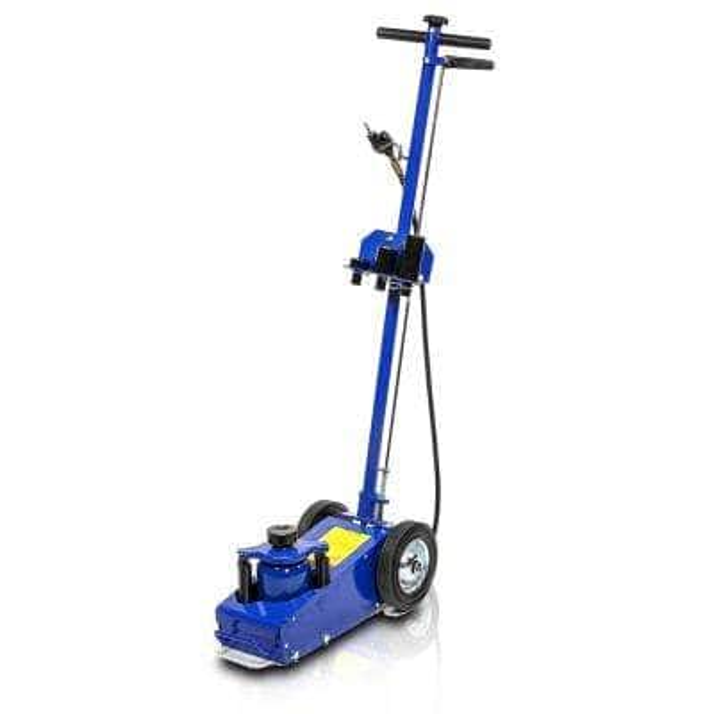 22-Ton Blue Air Hydraulic Steel Floor Lift Jack