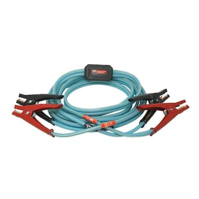 12 ft. 8-Gauge 145 Amp Blue Cables