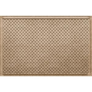 Gems 23 in x 35 PET Polyester Doormat Camel