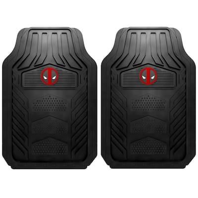 28.75 in. x 18.75 in. Deadpool Heavy-Duty Car Mats