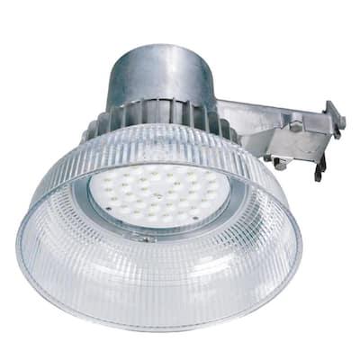 42-Watt Equivalent Integrated LED Gray Dusk to Dawn Area Light, 5000K