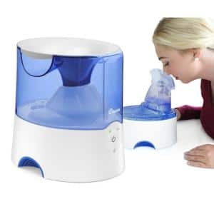 0.5 Gal. 2-in-1 Warm Mist Humidifier & Personal Steam Inhaler for Small to Medium Rooms up to 250 sq. ft.