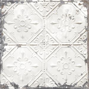 Vintage Tin Tile Vinyl Peel & Stick Wallpaper Roll (Covers 30.75 Sq. Ft.)