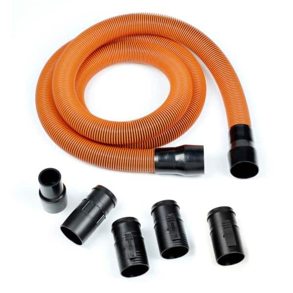 """7 Foots  Long 2-1//4"""" To 1-7//8"""" Hose Diameter For Ridgid Models Vacuums"""