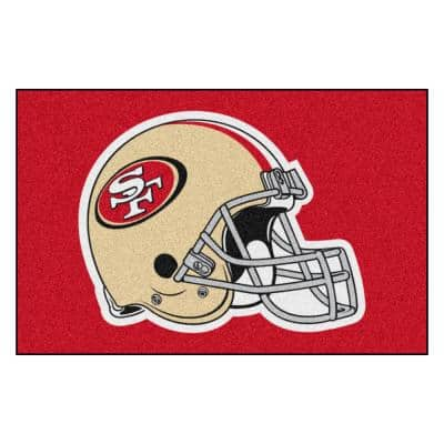 San Francisco 49ers Sports Rugs Rugs The Home Depot