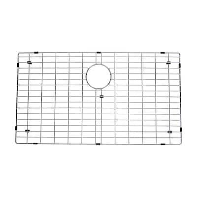 16.8 in. x 29.8 in. Kitchen Sink Bottom Grid in Stainless Steel