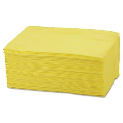 40 in. x 24 in., Yellow Masslinn Dust Cloths, 250/Count