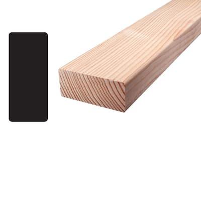 Douglas Fir S4S Mixed Grain Board (Common: 2 in. x 4 in. x 96 in.;Actual: 1.5 in. x 3.4375)