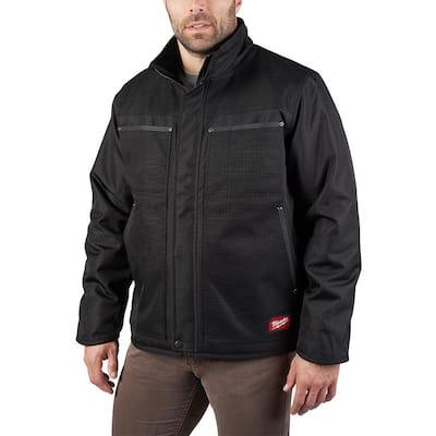 Men's Medium Black GRIDIRON Traditional Jacket