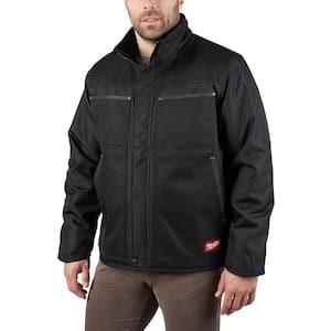 Men's Small Black GRIDIRON Traditional Jacket