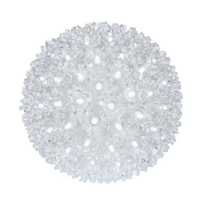6 in. 70-Light LED Cool White Decorative Starlight Sphere
