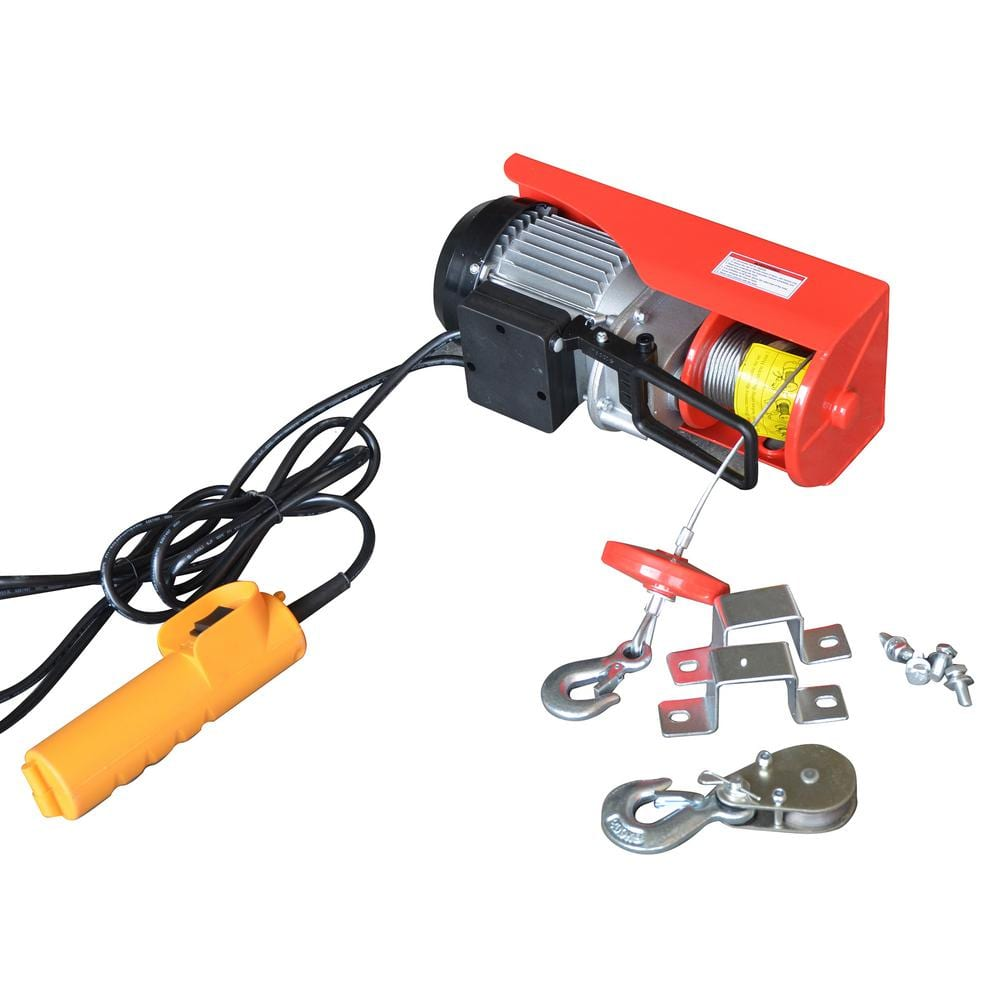Max Load 440 lb. Capacity Electric Hoist with Remote Control-42560 - The  Home DepotThe Home Depot