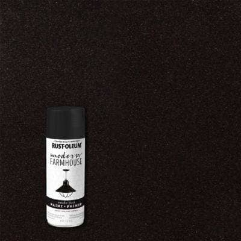 11 oz. Metallic Black Spray Paint