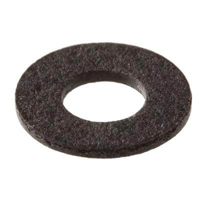 3/8 in. x 0.032 in. Black Fiber Washers (2-Piece)