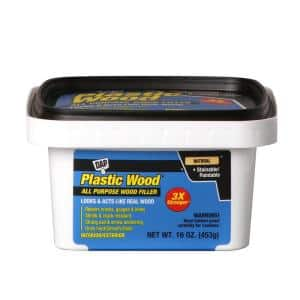 Plastic Wood 16 oz. Natural Latex Wood Filler (8-Pack)