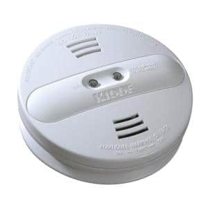 Firex Battery Operated Smoke Detector with Ionization and Photoelectric Dual Sensors