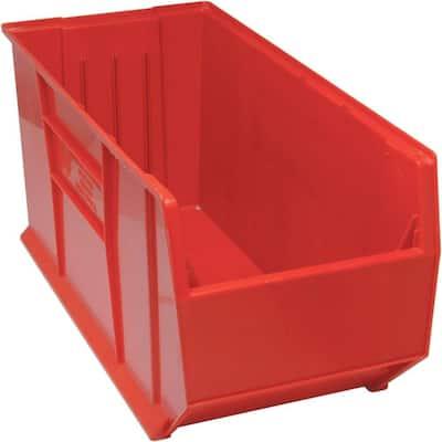 36 in. Quantum Hulk 45 Gal. Storage Tote in Red (1-Pack)