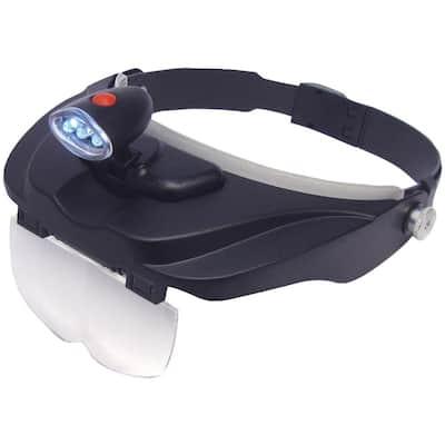 MagniVisor Deluxe LED Head Visor Magnifier
