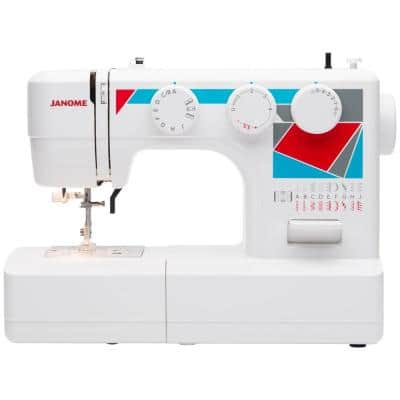 MOD-19 Easy-to-Use Sewing Machine with Needle Threader