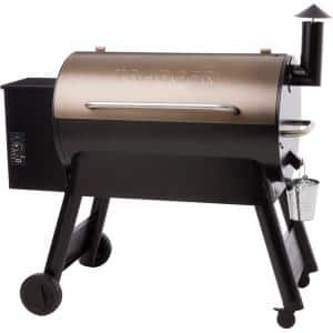 Pro Series 34 Pellet Grill in Bronze