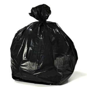 20-30 Gal. Black Trash Bags (Case of 250)