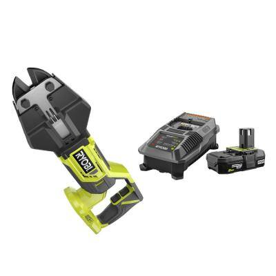 18-Volt ONE+ Cordless Bolt Cutters with 2.0 Ah Battery and Charger Kit