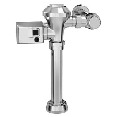 Ultima Sensor-Operated 1.1 GPF Toilet Diaphragm-Type Flush Valve in Polished Chrome