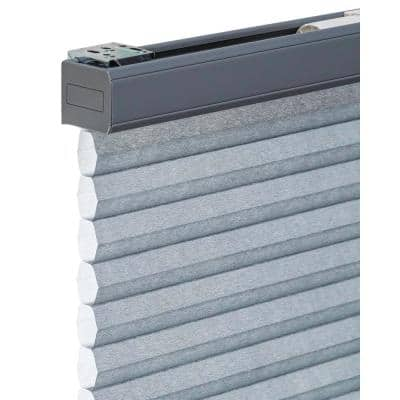 Cut-to-Size Morning Pebble Cordless Light Filtering Privacy Cellular Shades 46 x 48 in. L