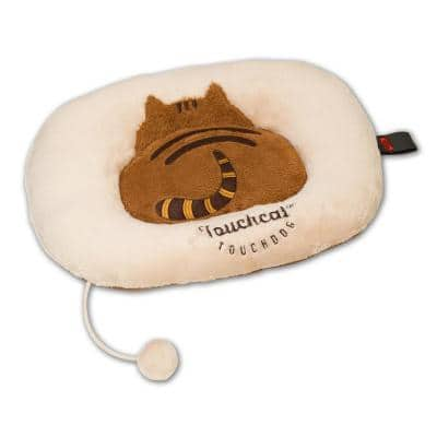 Beige and Brown Kitty-Tails Fashion Designer Fashion Premium Cat Pet Bed