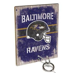 NFL - Baltimore Ravens Hook and Ring Toss Game