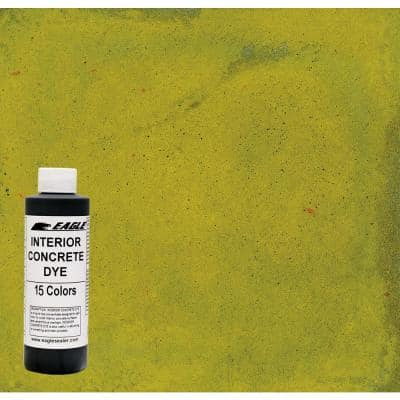 1 gal. Dandelion Interior Concrete Dye Stain Makes with Water from 8 oz. Concentrate