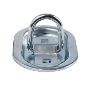 2-3/4 in. Oval Plate Recessed Anchor