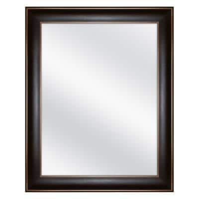 24 in. x 30 in. Fog Free Recessed or Surface Mount Medicine Cabinet in Oil Rubbed Bronze
