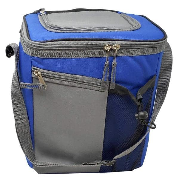Lavohome 18 Can Cooler Insulated Lunch Bag With Adjustable Shoulder Straps And Zipper Front Open Pockets 18cancoolerc6512 The Home Depot