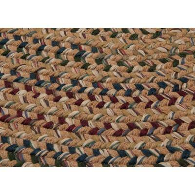 Winchester Evergold 6 ft. x 9 ft. Oval Moroccan Area Rug